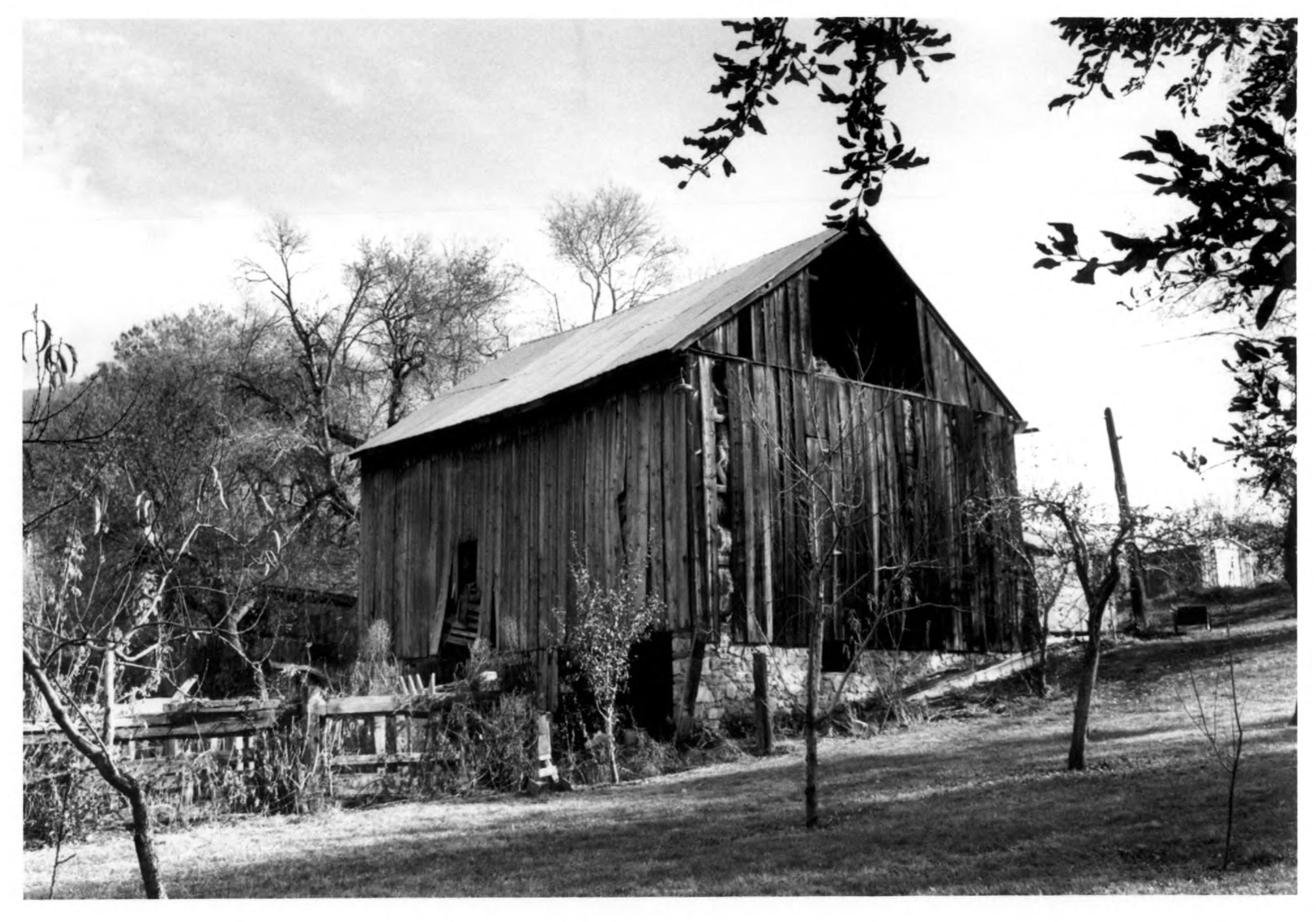 District's only barn on the National
