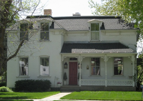 Ezra T. and Susan Leggett Clark House - 335 West State