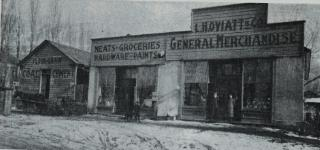 L.H. Oviatt General Merchandise Store - Main Street Farmington