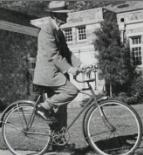 Amasa Lyman Clark - 100 years old and continued to ride his bicycle to work as President of the bank